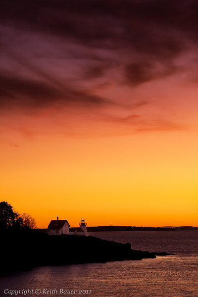 Curtis Point Lighthouse Sunrise #3