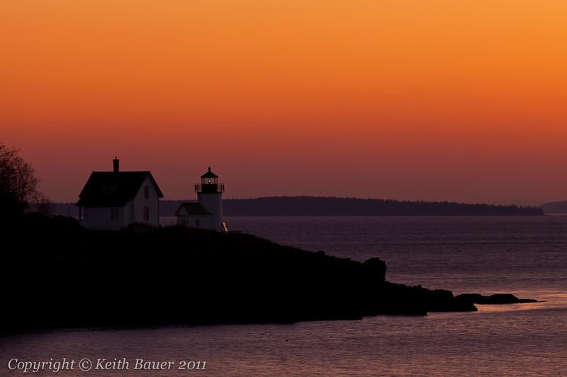 Curtis Point Lighthouse Sunrise #2