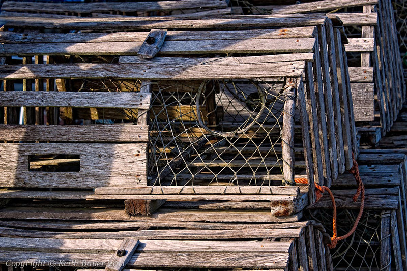 Lobster Traps from days gone by