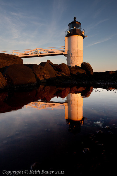 Marshall Point Lighthouse Reflection