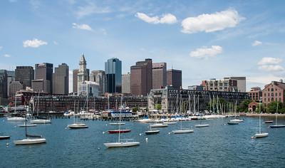 At anchor in Boston