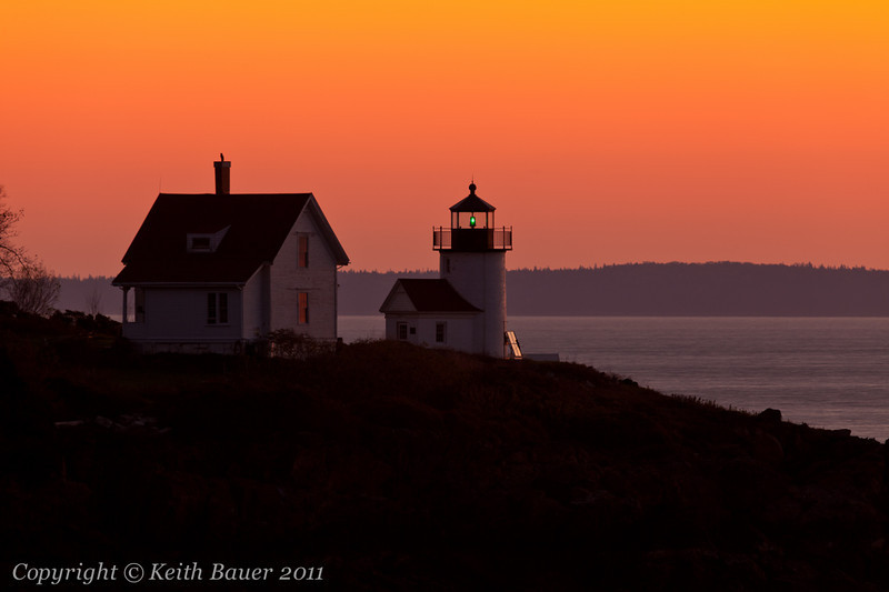 Curtis Point Lighthouse Sunrise #1