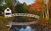 Foot Bridge - Near Bar Harbor Maine