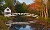 Foot Bridge - Near Bar Harbor Maine