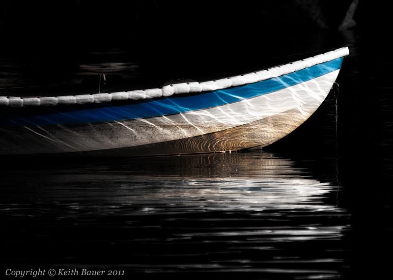 Boat Hull Reflection