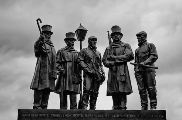 Statue in Glen Rock