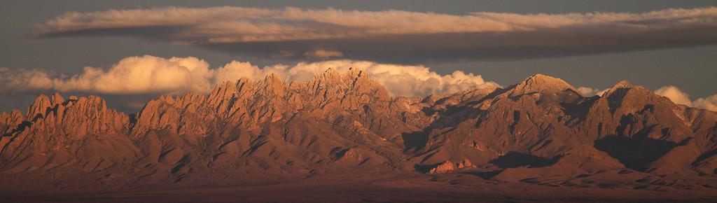 Organ Mountain Range; Las Cruces, NM