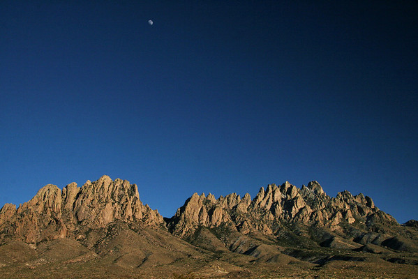 Reaching for the Moon; The Organ Mountains; Las Cruces, New Mexico