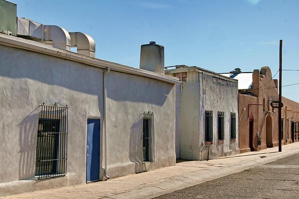Near the Fountain Theatre; Mesilla, New Mexico