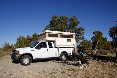 Camping at Wild River in New Mexico