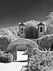 El Santuario de Chimayo B&W