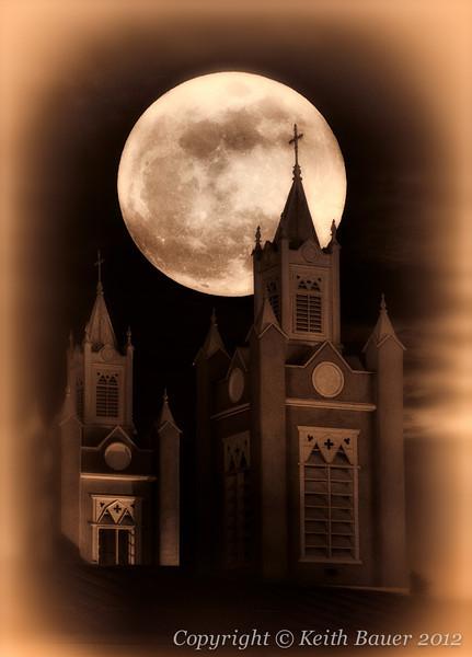 Super Moon - Old Town Albuquerque #2