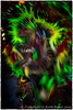 Native American Dancer - Abstract