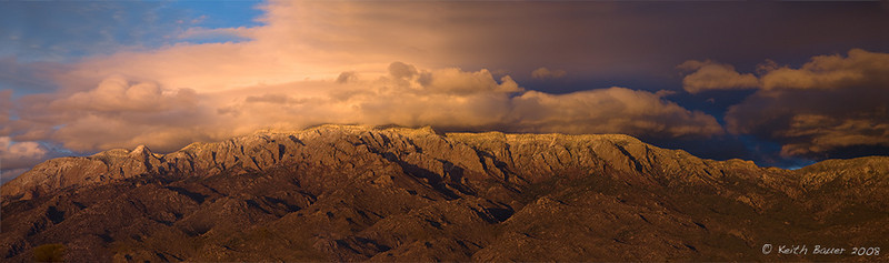 Sandia Mountains Panorama
