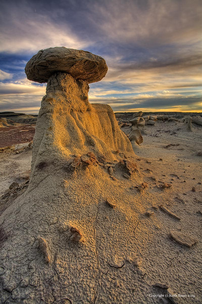 Bisti Wilderness - Last Light Glow