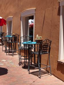 Cafe in Santa Fe