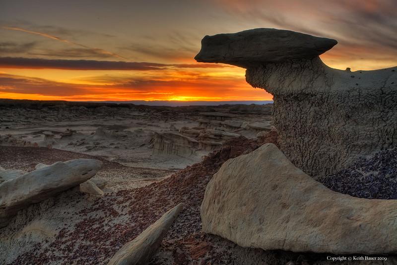 Bisti Wilderness - Sunset