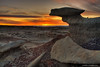 Bisti Wilderness - Sunset
