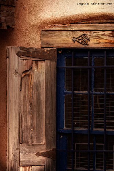 Old Town Albuquerque - Shuttered Window