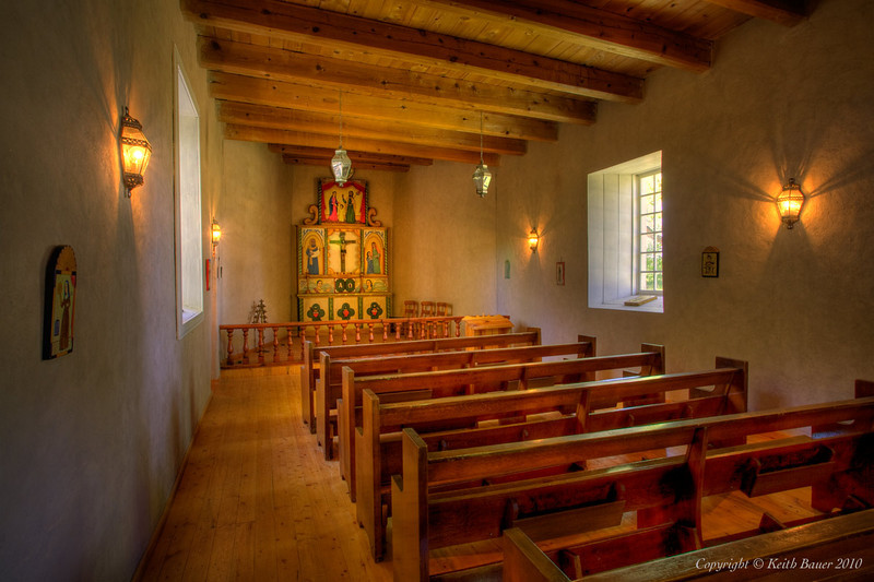 Capilla de la Sagrada Familia - Church at Los Luceros