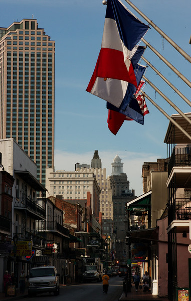 New Orleans Viewed from the French Quarter