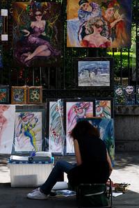 Artist at Ursuline