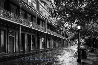 St. Peter Street, French Quarter Early Morning