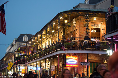 French Quarter at night, New Orleans