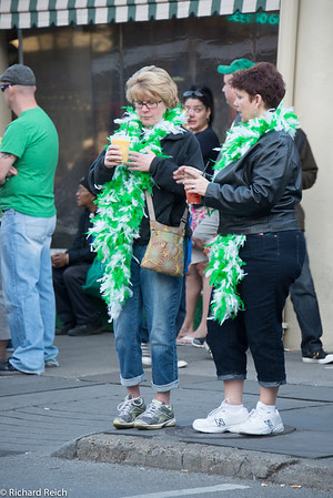 French Quarter nightlife & St Patrick weekend
