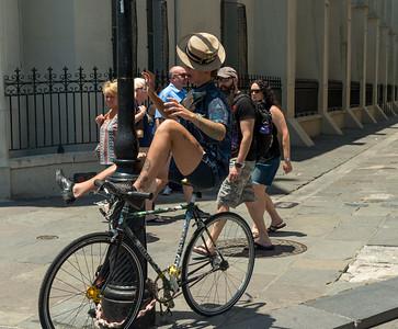 NOLA Street Performer