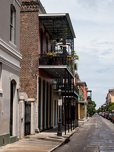 Side Street in the French Quarter