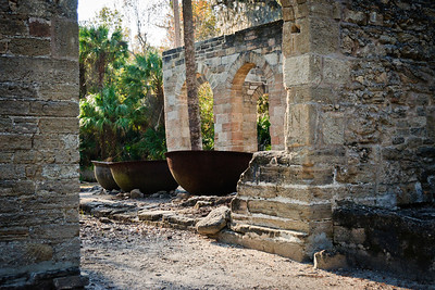 New Smyrna Sugar Mill Ruins (Cruger-dePeyster Sugar Mill) © Nora Kramer Photography