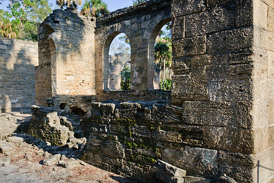 New Smyrna Sugar Mill Ruins (Cruger-dePeyster Sugar Mill) © Nora Kramer Photography