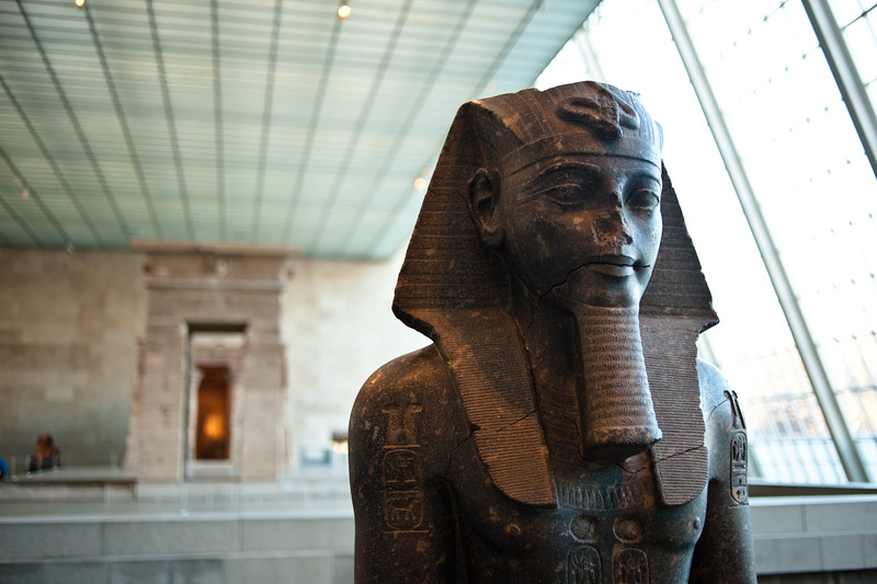 Ancient works at the Metropolitan Museum of Art