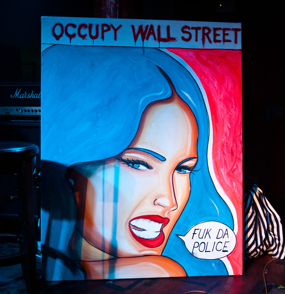 Scenes from Occuparty - an OWS benefit