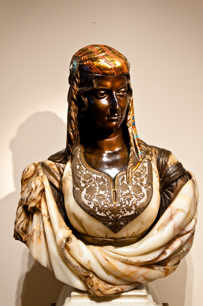Charles Cordier : The Jewish Woman of Algiers at the Metropolitan Museum of Art