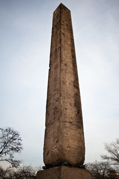 Cleopatra's Needle in Central Park
