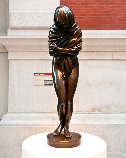 Jean-Antoine Houdon : Winter or La Frileuse at the Metropolitan Museum of Art