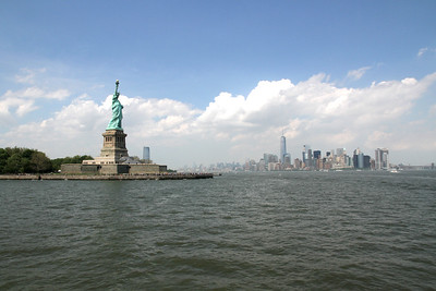 Statue of Liberty and NYC