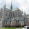 This is the Basilica of Newark.  Across the street from the offices for the Diocese of Newark.