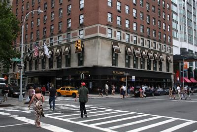 PJ Clarkes Restaurant across the street from Lincoln Center