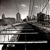 View of Brooklyn from Brooklyn Bridge