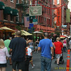 Crowds in Little Italy