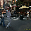 Crazy dancing in Little Italy