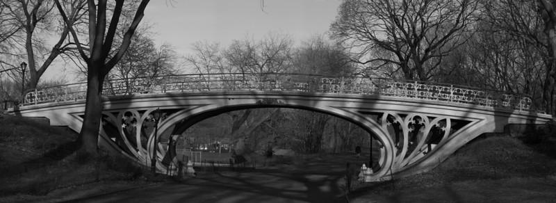 Central Park's Gothic Bridge