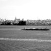 Liberty Island<br /> View of NYC from Statue of Liberty