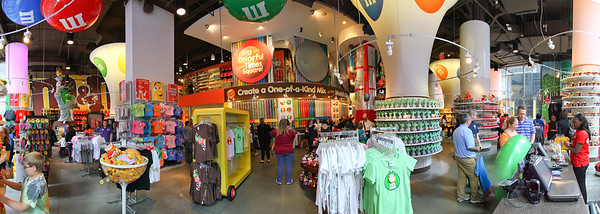 M&M Store in New York City Times Square