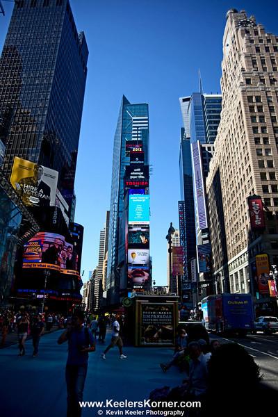 Morning at Times Square
