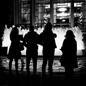Lincoln Center Fountain, New York City