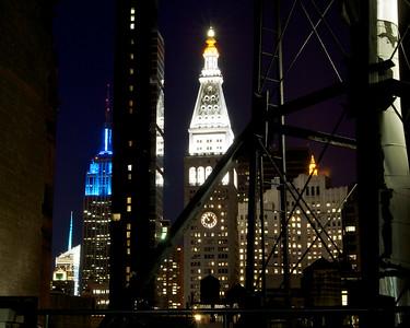 New York City roof top